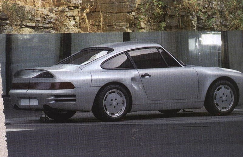 Porsche 969/965 Story, Prototypes and Styling Exercises