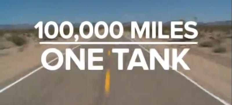 What If You Could Drive 100,000 Miles On A Tank Of Gas?