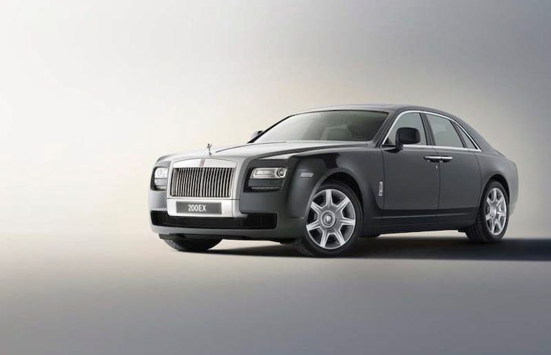 Rolls-Royce Ghost Is The New RR4