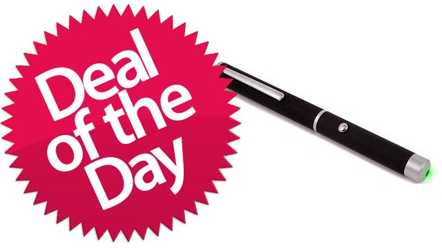 Professional Astronomy Powerful Green Laser Pointer is Your Blinding Deal Of The Day