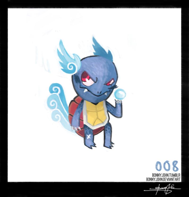 Wartortle! Pokemon one a Day!