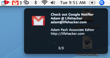 Download of the Day: Google Notifier