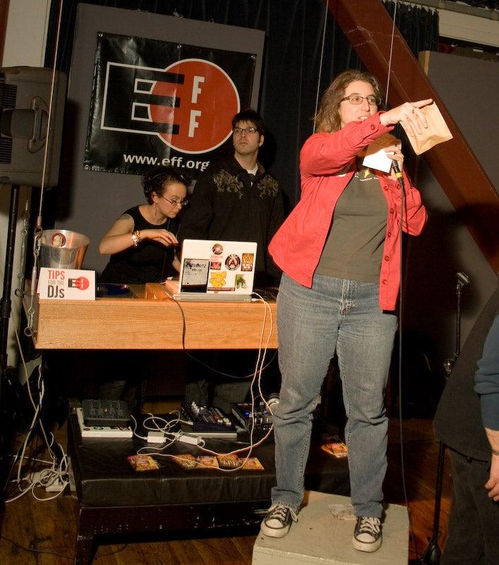 EFF party celebrates San Francisco cliches