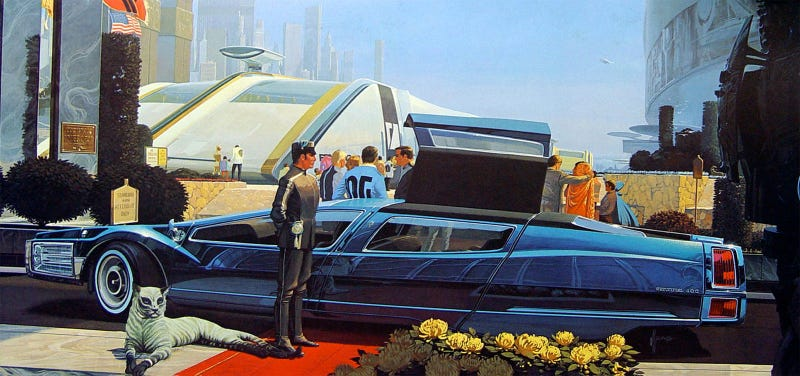 This Is What A Great '60s Futurist Thought The Present Would Look Like