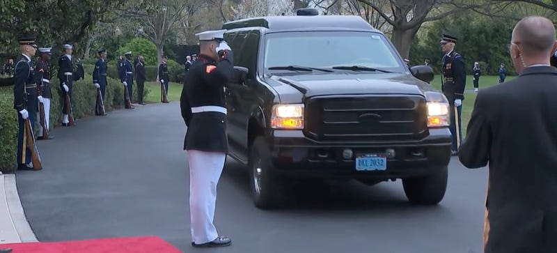 Here Are The Armored Limos 50 World Leaders Drove To The White House