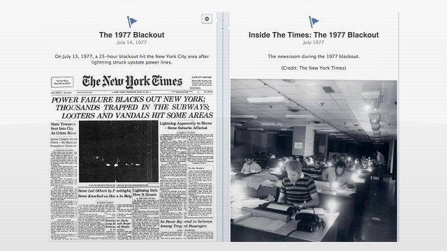 The New York Times Tells Its Entire Life Story on Facebook Timeline