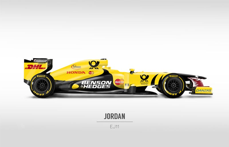 Classic Formula 1 Liveries On Modern F1 Cars Are Plain Awesome