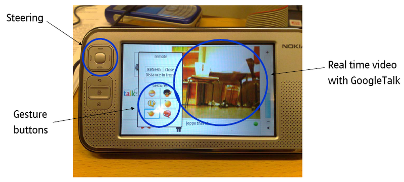 Nokia's Jeppe Web-Controlled Videoconferencing Bot Makes Meetings Even More Fun