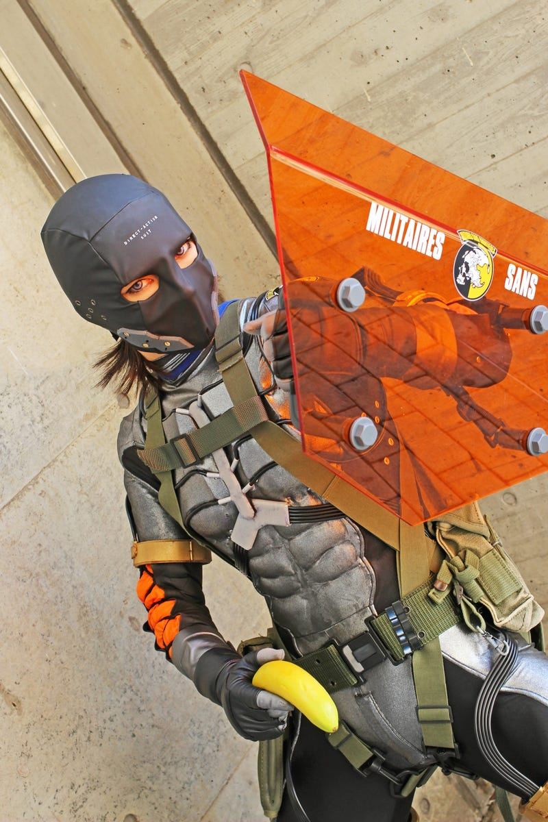 This Metal Gear Cosplay Is Direct-Action, Bananas