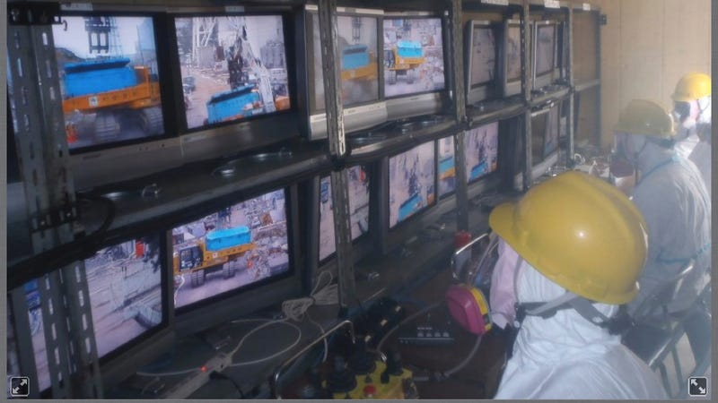 Huge Robots are Clearing the Fukishima Powerplant Debris