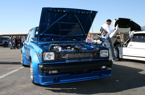 Down on the D1 Grand Prix: Turbocharged Toyota Starlet