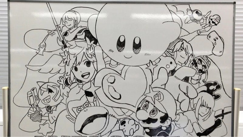 Here's What Smash Bros. Artists Draw In Their Spare Time