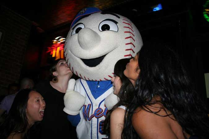 When It's Time For Mr. Met To Party, It's Time To Party Hard