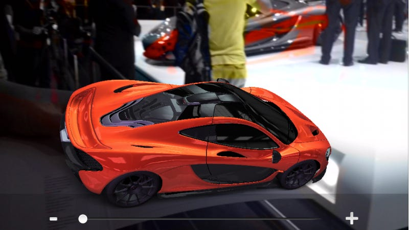 Get Your Own McLaren P1 For Free With This Awesome iPhone App