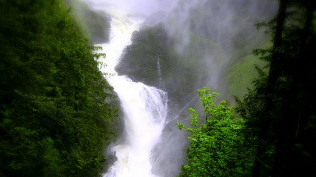 Boy Spends Eight Hours Trapped Between Two Waterfalls