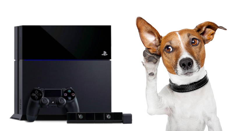 Listen. That's The Sound Of The PlayStation 4 Starting Up.