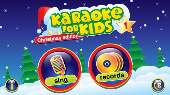 Karaoke for Kids Christmas Carols
