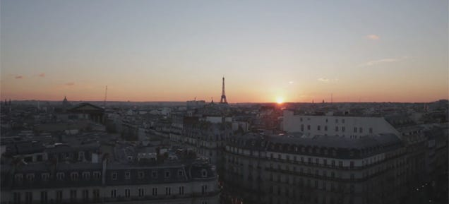 Hypnotic hyperlapse of Paris teleports you all over the beautiful city