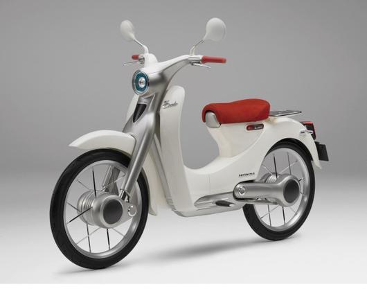 Honda EV-Cub Marries Electric Bike With 2WD, Star Trek Communicator