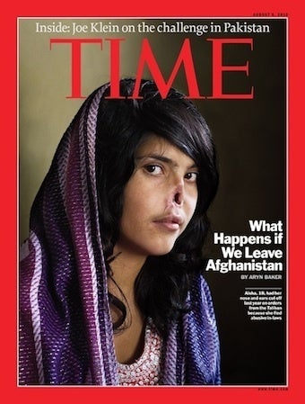 Justice For Time's Mutilated Cover Subject
