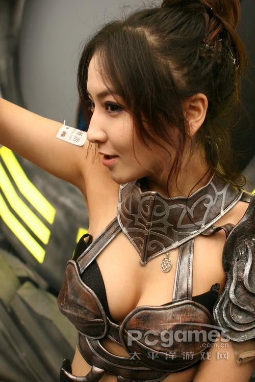 The Companions And Cosplayers Of ChinaJoy 2010