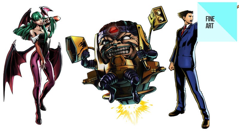 The Blinding Character Art of Ultimate Marvel vs Capcom 3