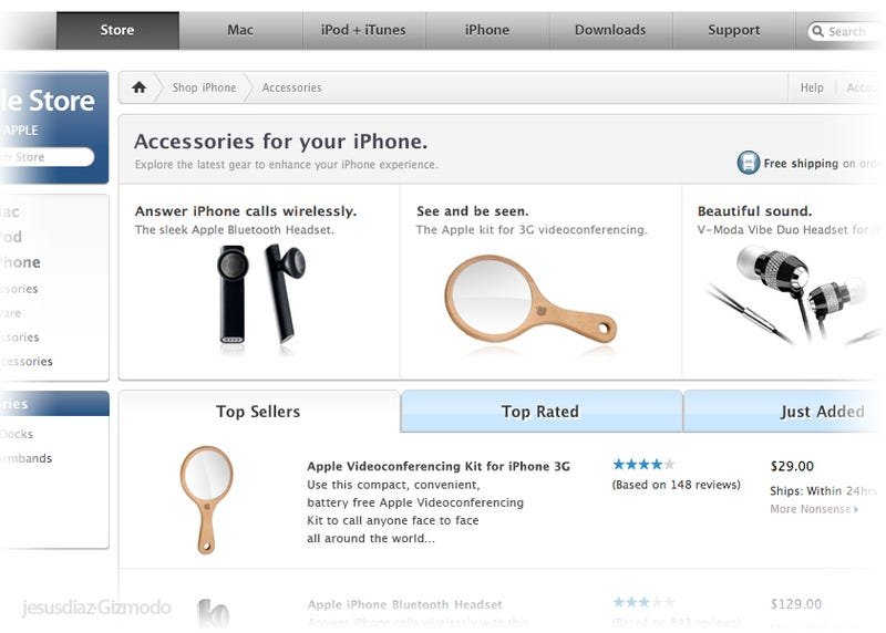 Apple Introduces iPhone 3G Videoconferencing Kit, ZOMG!