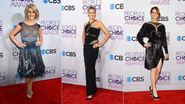 Celebs Dress to Burn Retinas at the People's Choice Awards