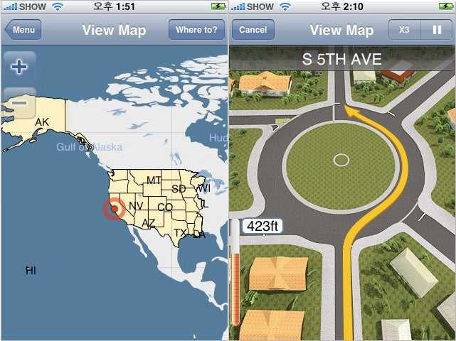 XRoad G-Map Is Offline Navigation For the iPhone