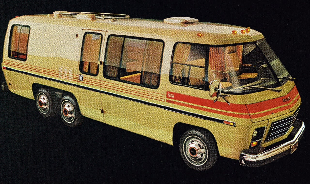 Brilliant This Beautiful Classic GMC Motorhome Has Been Completely Modernized At