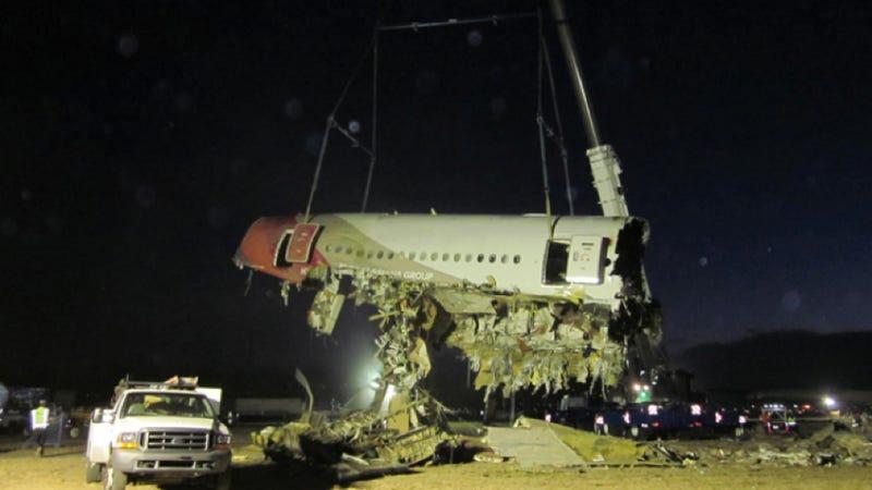 Take An Eerie Look Inside The Terrifying Wreckage Of Asiana Flight 214
