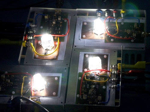 Stream 500Mbps Over LED Light