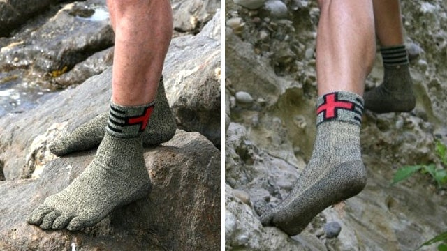 Would You Wear An Extra Tough Pair Of Socks Instead Of Shoes?