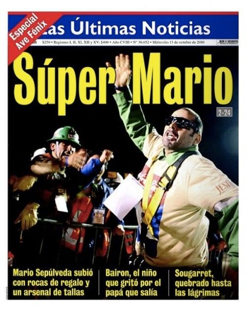 Chile's Own Super Mario Miner