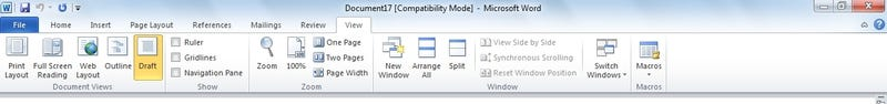 Comparing Office 2010 Desktop And Office Web Apps in Pictures