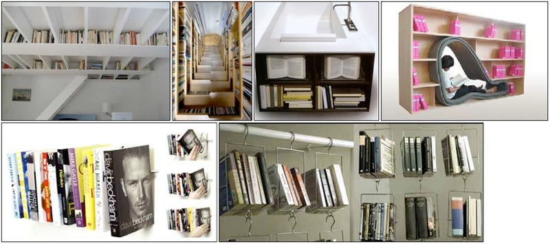 Six Space-saving Ideas For Bibliophiles