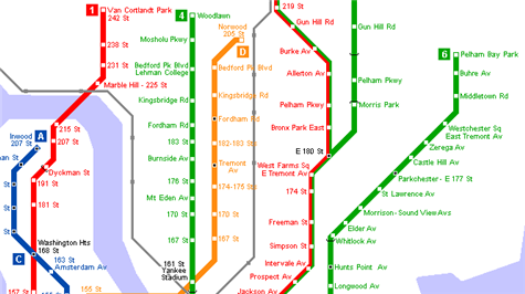 Free printable worldwide subway maps