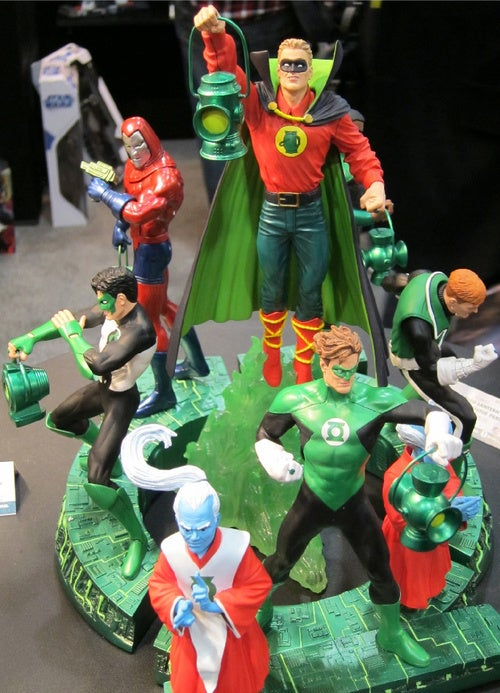 DC's Toy Fair Showcase: Green Lantern, Jonah Hex, And True Blood, Oh My!
