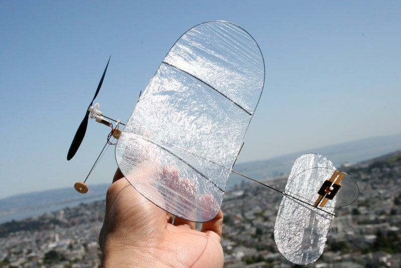Carbon Butterfly Gallery: RC Plane Lighter Than a Sheet of Paper
