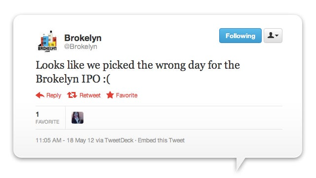 The 11 Funniest Tweets About Facebook IPOpocalypse
