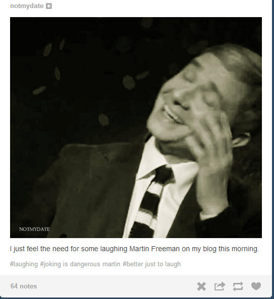 Martin Freeman Told a Rape Joke, Everything Sucks (Updated With Terrible Fan Reactions)