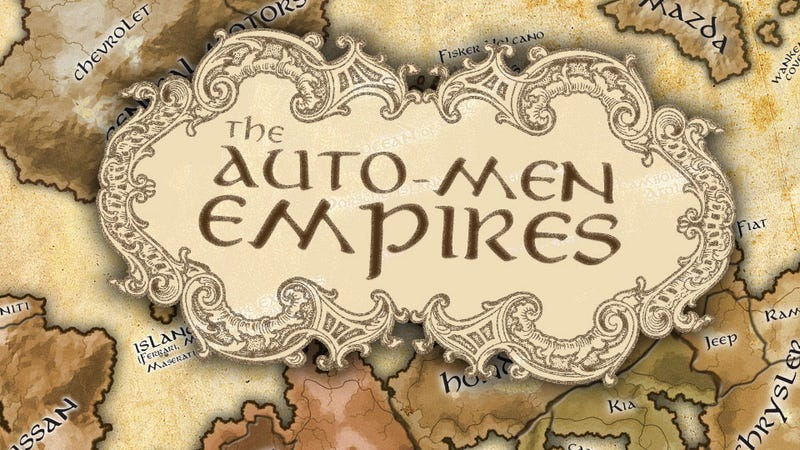 2012's U.S. Car Sales Visualized As A Game Of Thrones-style Atlas