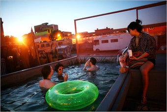 Brooklyn's Dumpster Swimming Pools Going National