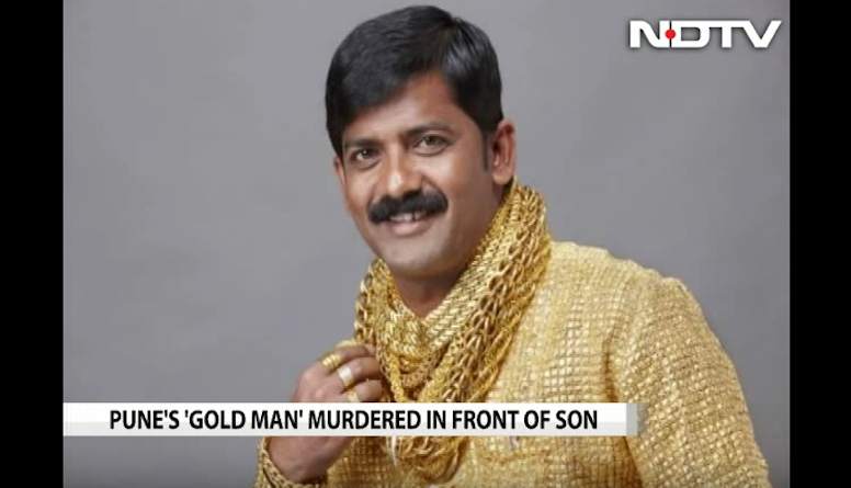 India's Famous Gold Shirt Man Bludgeoned to Death By Gang