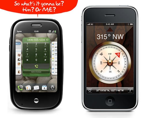 Palm Pre vs. iPhone 3GS: How To Make the Right Decision
