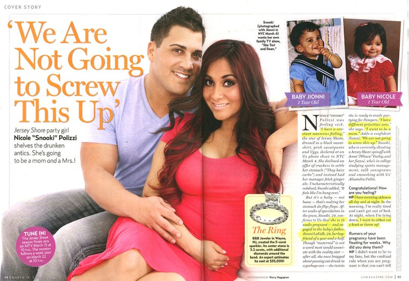 This Week In Tabloids: Snooki's Dad Didn't Speak To Her After She Told Him She Was Knocked Up