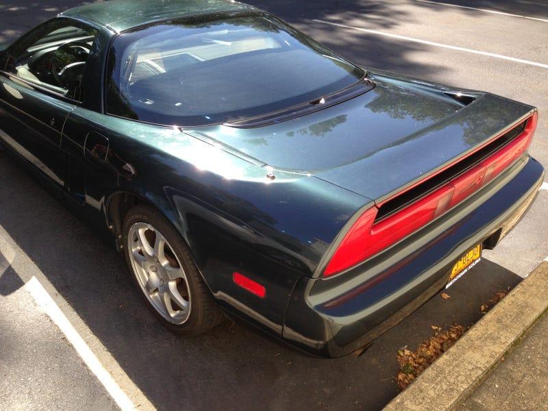 Rare Acura NSX @ Acura Dealership