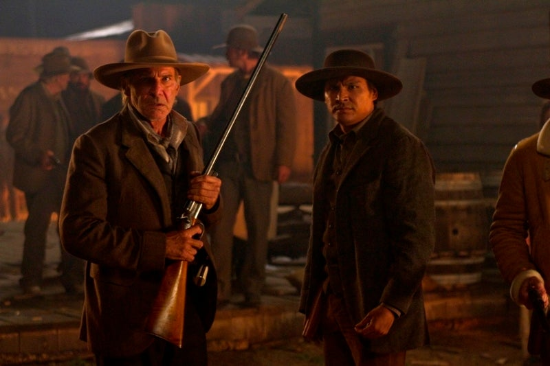 Cowboys & Aliens will show you action like you've never seen it before