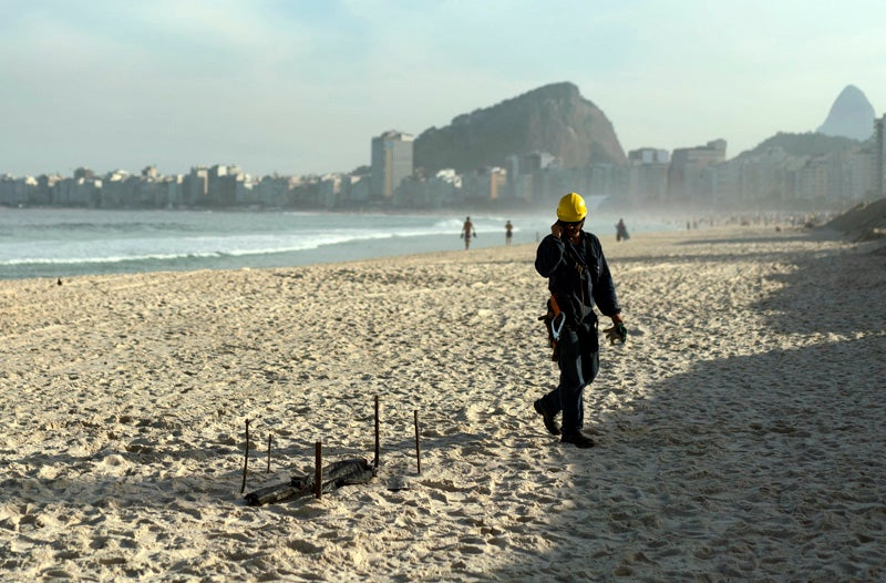 """""""Mutilated Body"""" Washes Up at Brazil's Olympic Beach Volleyball Venue"""