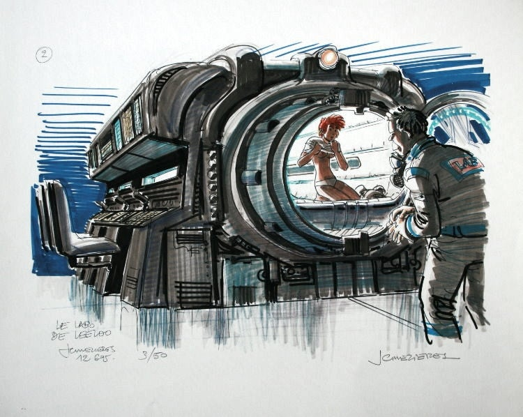 Astoundingly Beautiful Concept Art from The Fifth Element